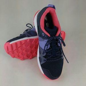 adidas Kanadia 8.1 K Navy/Purple/Pink Girls 2